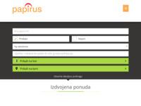 Frontpage screenshot for site: Papirus nekretnine (http://www.papirus-nekretnine.com.hr/)