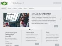 Slika naslovnice sjedišta: VIS KONFEKCIJA (http://www.vis-konfekcija.hr)