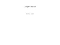 Frontpage screenshot for site: Smještaj na Lošinju (http://www.losinj-croatia.com)