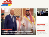 Slika naslovnice sjedišta: Večernji list (http://www.vecernji.hr/)