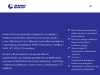 Slika naslovnice sjedišta: Radio Moto internet stranice (http://www.radio-moto.hr/)