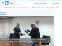 Slika naslovnice sjedišta: Hrvatski cestovni prijevoznici g.i.u. (http://www.hcp.hr)