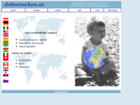 Frontpage screenshot for site: (http://www.dolmetschen.at/hr/index.htm)