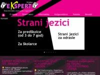 Slika naslovnice sjedišta: Ekspert Rijeka - škola informatike, stranih jezika i knjigovodstva (http://www.skola-ekspert.hr)