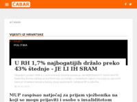 Slika naslovnice sjedišta: Internet portal Grad Čabar (http://cabar-online.net/)