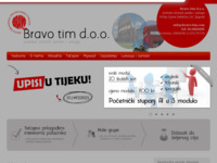 Frontpage screenshot for site: Bravo tim d.o.o. (http://www.bravo-tim.com/)