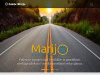 Slika naslovnice sjedišta: Selidbe Marijo - selidbe i transporti (http://selidbe-marijo.hr/)