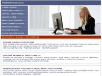 Slika naslovnice sjedišta: Poslovni forum (http://www.poslovniforum.hr/)