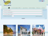 Frontpage screenshot for site: Eurotours - turistička agencija - Makarska (http://www.eurotours-makarska.com/)