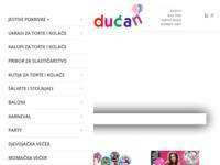 Frontpage screenshot for site: Veseli dućan (http://www.veseli-ducan.hr/)