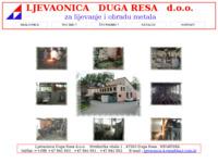 Slika naslovnice sjedišta: Ljevaonica Duga Resa  d.o.o.  , Duga Resa , Hrvatska (http://www.ljevaonica-dresa.hr)