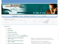 Frontpage screenshot for site: Refinal d.o.o. - revizija, računovodstvo, financijske analize (http://www.refinal.hr/)