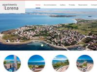 Slika naslovnice sjedišta: Apartmani Lorena - Privlaka, Zadar (http://www.apartments-lorena.com/)