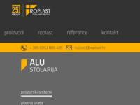 Slika naslovnice sjedišta: Roplast proizvodnja PVC i ALU stolarije (http://www.roplast.hr/)