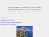 Frontpage screenshot for site: Apartmani Carević (http://free-st.htnet.hr/smjestaj/)