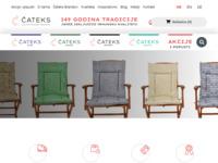 Slika naslovnice sjedišta: Čateks, Čakovec - Hrvatska tekstilna industrija (http://www.cateks.hr/)