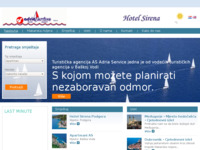 Frontpage screenshot for site: AS Adria Service (http://www.as-adria.hr/)