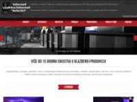 Frontpage screenshot for site: G.I.S. d.o.o. - desetljeća iskustva u glazbenoj produkciji (http://www.gis.hr/)