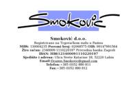 Frontpage screenshot for site: Smokovic.com osobne stranice (http://www.smokovic.com/)
