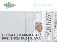 Slika naslovnice sjedišta: Hrvatska ljekarnička komora (http://www.hljk.hr)