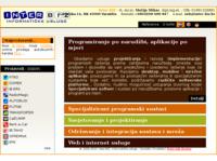 Frontpage screenshot for site: Inter-biz, usluge u informatici (http://www.inter-biz.hr/)