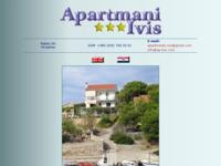 Frontpage screenshot for site: Apartmani Ivis - Ražanj, Šibenska Rogoznica (http://www.ap-ivis.com)