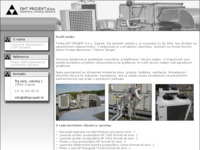Frontpage screenshot for site: DHT projekt d.o.o. (http://www.dhtprojekt.hr/)