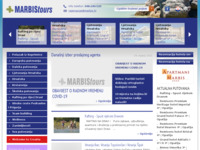 Frontpage screenshot for site: Marbis tours (http://www.marbis.hr)