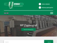 Slika naslovnice sjedišta: MP Papirograf (http://www.mp-papirograf.hr/)
