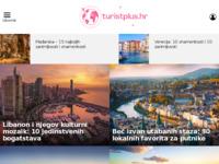 Slika naslovnice sjedišta: Turist plus - Revija za turizam, gospodarstvo i kulturu življenja (http://www.turistplus.hr/)