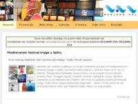 Frontpage screenshot for site: Izdavačka kuća Adamić (http://www.adamic.hr)