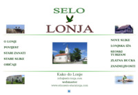 Slika naslovnice sjedišta: Selo Lonja, Lonjsko Polje (http://www.selo-lonja.com/)