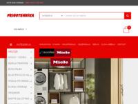 Slika naslovnice sjedišta: Frigotehnika - bijela tehnika, klima uređaji (http://www.frigotehnika.hr/)