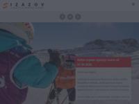 Frontpage screenshot for site: Turistička agencija Izazov (http://www.izazov.net/)