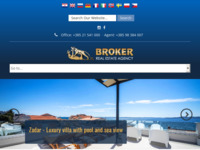 Frontpage screenshot for site: Agencija Broker (http://www.broker.hr)