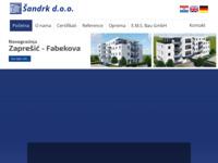 Slika naslovnice sjedišta: Šandrk d.o.o. (http://www.sandrk.hr)