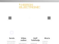 Slika naslovnice sjedišta: Heron Electronic (http://www.heron-electronic.hr)