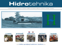 Frontpage screenshot for site: Vodnogospodarske djelatnosti - Hidrotehnika d.o.o. (http://www.hidrotehnika.hr)