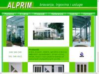 Slika naslovnice sjedišta: Alprim proizvodnja aluminijske bravarije (http://www.alprim.hr)