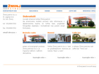 Frontpage screenshot for site: Žminj petrol (http://www.zminj-petrol.hr/)