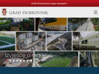Frontpage screenshot for site: Službene Web stranice grada Dubrovnika (http://www.dubrovnik.hr/)