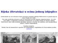 Frontpage screenshot for site: Rijeka u očima jednog izbjeglice (http://digilander.iol.it/comunedifiume/rijeka.htm)