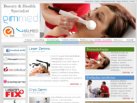 Frontpage screenshot for site: Wellness i kozmetika (http://www.gimmed.com)