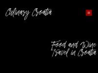 Slika naslovnice sjedišta: Kulinarska putovanja po Hrvatskoj (http://www.culinary-croatia.com)