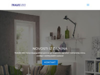 Frontpage screenshot for site: Tkalec-ing d.o.o. (http://www.tkalec-ing.hr)