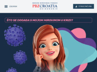 Frontpage screenshot for site: PBZ Croatia osiguranje (http://www.pbzco-fond.hr)
